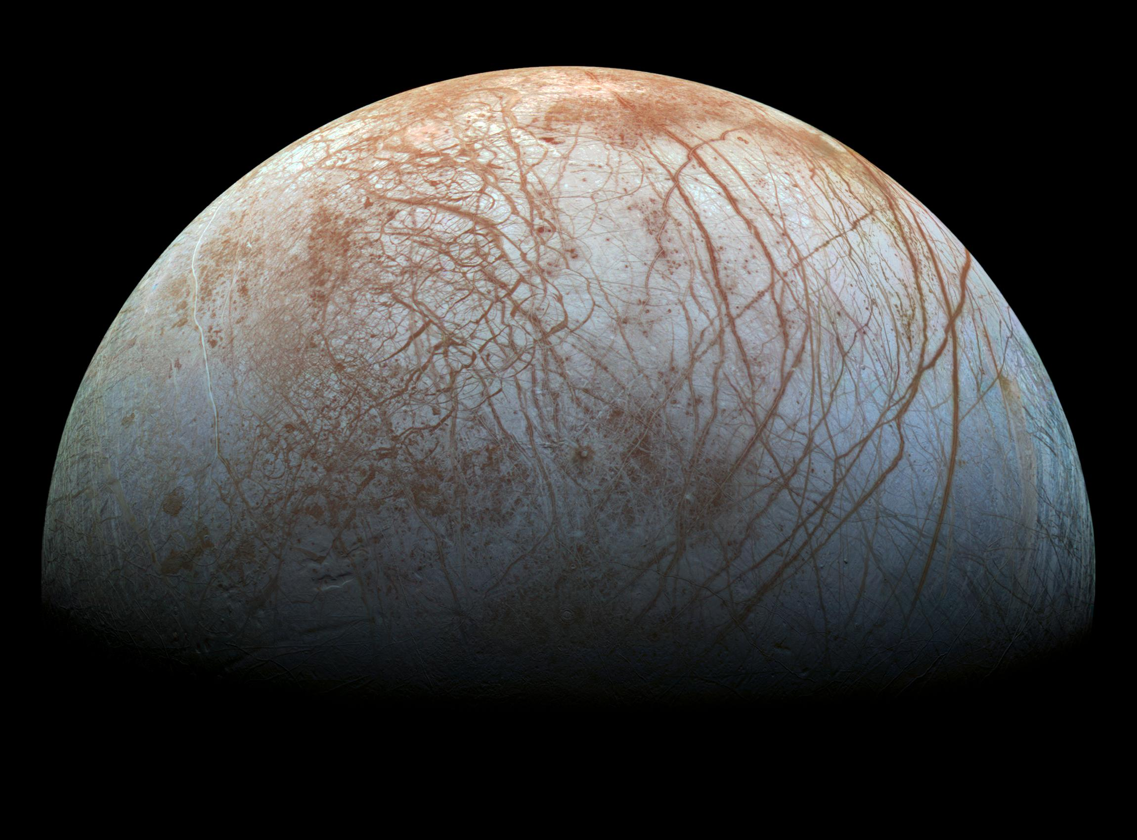 Europa vita oceano sotterraneo pianeta e satellite