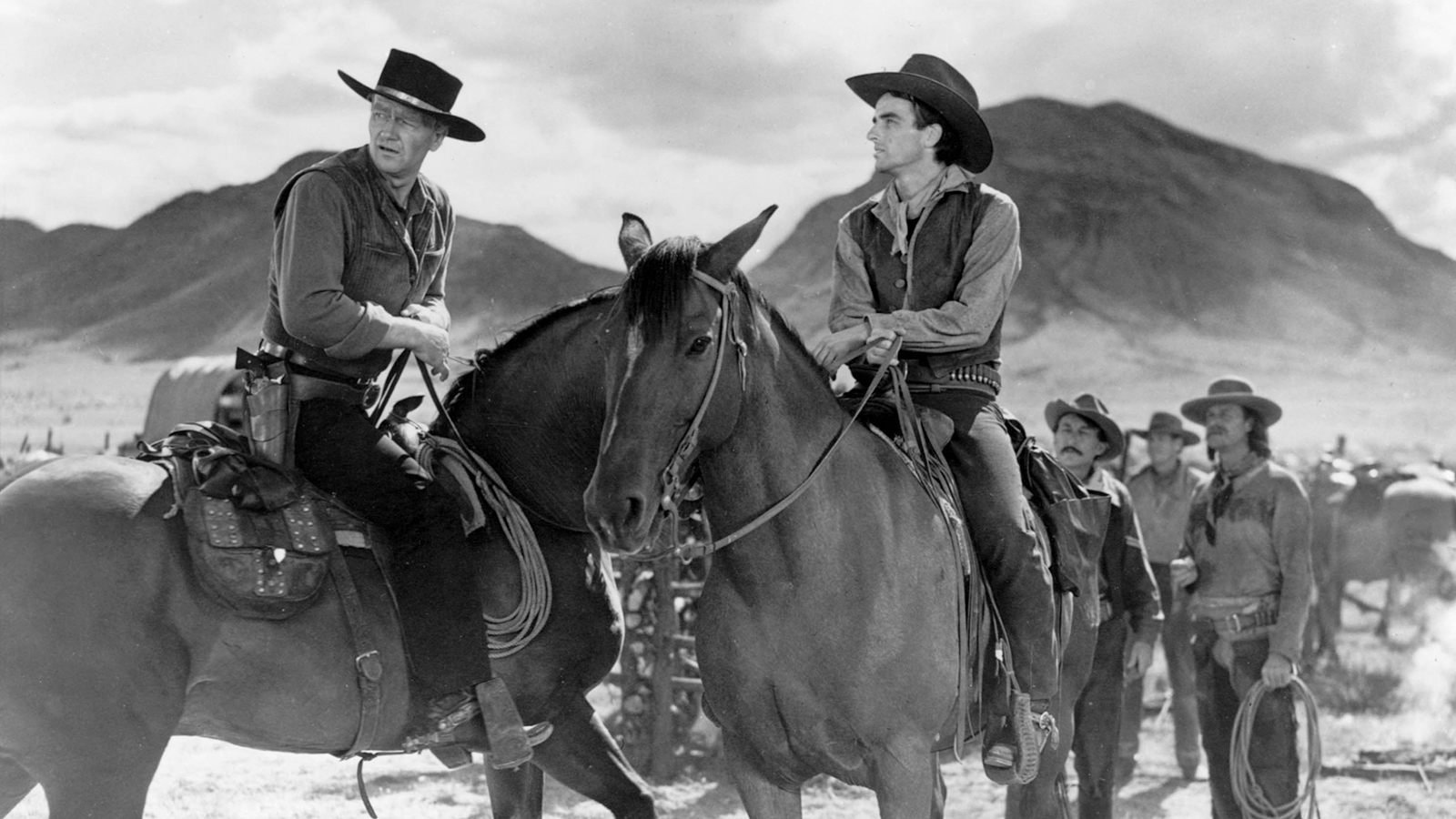 john wayne clift texas red river