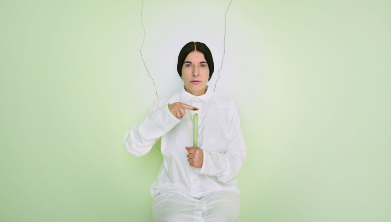 Marina Abramović the cleaner