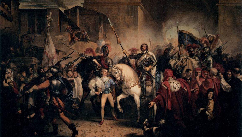 Un Paese diviso: la calata di Carlo VIII in Italia