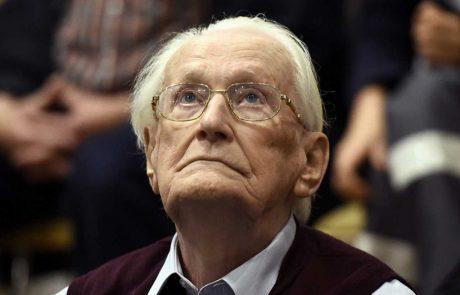 Oskar Gröning, il nazista anomalo