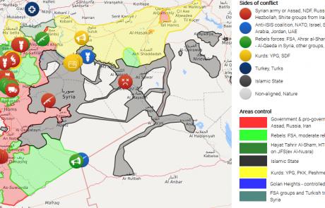 Breve spiegazione della guerra in Siria